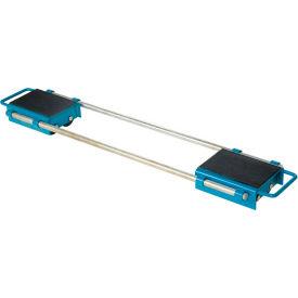 Vestil Machinery Skates ASKT-6 - Adjustable - 8 Rollers - Nylon