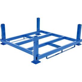 "Internestable Rack Base, 48""W X 48""D, 4000 lbs. Capacity"