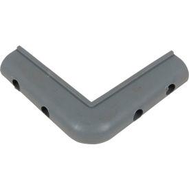 "Vestil Thermoplastic Rubber Corner Guard CB-1 3-1/8"" x 3-1/8"" (Case of 28)"