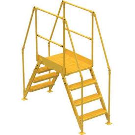 "4 Step Cross-Over Ladder - 67""L"