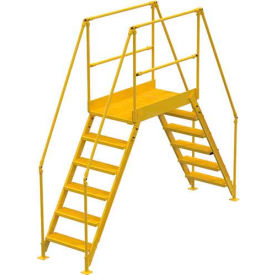 "6 Step Cross-Over Ladder - 128""L"