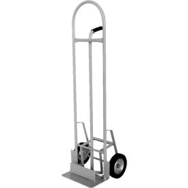 Vestil High-Back Aluminum Hand Truck with Push-Out Nose Plate HBST-500