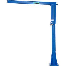 Vestil Floor Mounted Jib Crane JIB-FM-3 300 Lb. Capacity