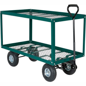 Vestil 2 Shelf Nursery Landscaping Cart LSC-2448-SC