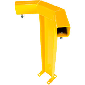 Modular Guard- Corner Post - Single Rail