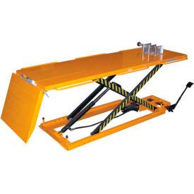 Vestil Hydraulic Motorcycle Lift Table, Cradle & Ramp MOTO-LIFT-1100 1100 Lb. Capacity