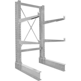 "Vestil - Cantilever Rack MD Single Sided Unit, 8'H x 24"" Arms, 5,300 lb Cap. Galvanized"