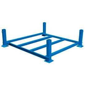 "Internestable Rack, 60""W X 48""D W/30""-36""H Adjustable Posts, 4000 lbs. Capacity"