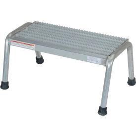 Vestil Aluminum Step Stand - 1 Step Welded - SSA-1