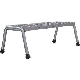 Vestil Aluminum Wide Step Stand - 1 Step Welded - SSA-1W