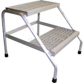 Aluminum Step Stand - 3 Step - Welded - SSA-3