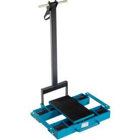 Vestil Machinery Skates SSKT-6 - Steerable - 8 Rollers - Nylon