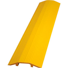 "Vestil Extruded Aluminum Hose & Cable Crossover, Yellow, 36"" x 21-1/8"" x 3-9/16"""