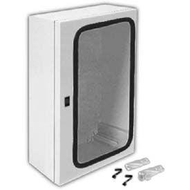 "Vynckier ANG3325FPHA ARIA 33"" X 25"" Non-Metallic Enclosure/Gasket Window/1/4 Turn Handle Enclosures"