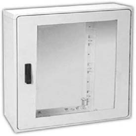 "Vynckier PSB4040A POLYSAFE 40"" X 40"" Non-Metallic Enclosure, 1 Bonded Window Door"