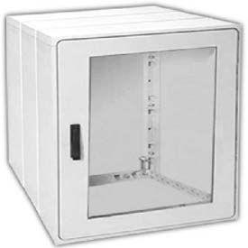 """Vynckier PSB4040E2A POLYSAFE 40"""" X 40"""" Non-Metallic Enclosure, 1 Extension, 2 Bonded Window Door"""