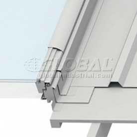 "VELUX Metal Roof Flashing Skylight EDMM060000B, Aluminum, 5""L X 57""H X 20-1/4""D"