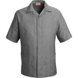 Red Kap® Pincord Shirt Jacket Short Sleeve Black Pincord L - 1S00