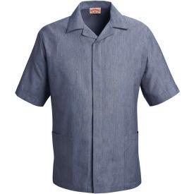 Red Kap® Pincord Shirt Jacket Short Sleeve Navy Pincord 3XL - 1S00