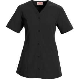 Red Kap® Women's Easy Wear Tunic Short Sleeve Black 4XL - 9P01