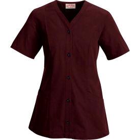 Red Kap® Women's Easy Wear Tunic Short Sleeve Burgundy 4XL - 9P01