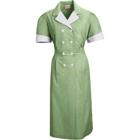 Red Kap® Double-Breasted Lapel Dress Uniform Short Sleeve Hunter Pincord 3XL - 9S01