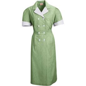 Red Kap® Double-Breasted Lapel Dress Uniform Short Sleeve Hunter Pincord M - 9S01