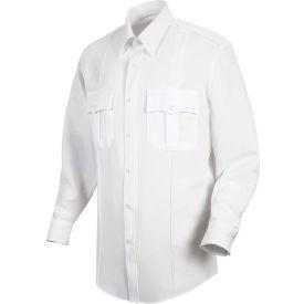 Horace Small™ New Dimension Stretch Poplin Men's Long Sleeve Shirt White 17.5 x 33 - HS11