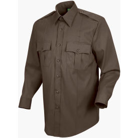Horace Small™ Deputy Deluxe Men's Long Sleeve Shirt Brown 17 x 33 - HS11