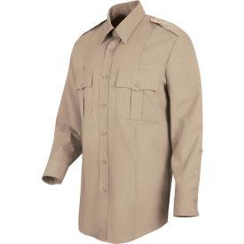 Horace Small™ Deputy Deluxe Men's Long Sleeve Shirt Silver Tan 17 x 34 - HS11