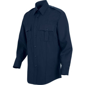 Horace Small™ Deputy Deluxe Men's Long Sleeve Shirt Dark Navy 17.5 x 33 - HS11
