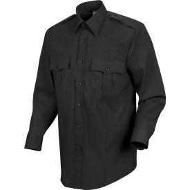 Horace Small™ Sentry™ Men's Long Sleeve Shirt Black 16 x 36 - HS11