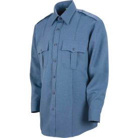 Horace Small™ Sentry™ Men's Long Sleeve Shirt French Blue Heather 18.5 x 34 - HS11