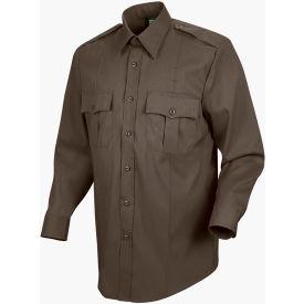 Horace Small™ Sentry™ Men's Long Sleeve Shirt Brown 15 x 33 - HS11