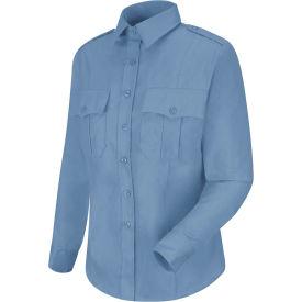 Horace Small™ New Dimension Stretch Poplin Women's Long Sleeve Shirt Light Blue L - HS11