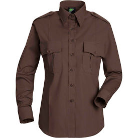Horace Small™ Deputy Deluxe Women's Long Sleeve Shirt Brown XL - HS11