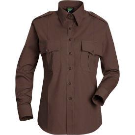 Horace Small™ Deputy Deluxe Women's Long Sleeve Shirt Brown 2XL - HS11