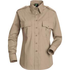 Horace Small™ Deputy Deluxe Women's Long Sleeve Shirt Silver Tan 2XL - HS11