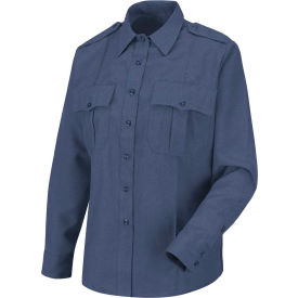 Horace Small™ Sentry™ Women's Long Sleeve Shirt French Blue Heather L - HS11