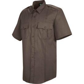 Horace Small™ Deputy Deluxe Men's Short Sleeve Shirt Brown 15.5 - HS12