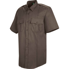 Horace Small™ Deputy Deluxe Men's Short Sleeve Shirt Brown 19.5 - HS12