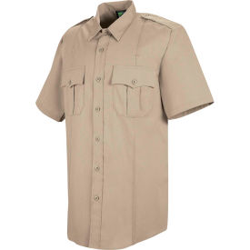 Horace Small™ Deputy Deluxe Men's Short Sleeve Shirt Silver Tan 17 - HS12