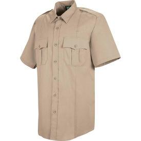 Horace Small™ Deputy Deluxe Men's Short Sleeve Shirt Silver Tan 17.5 - HS12