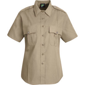 Horace Small™ Deputy Deluxe Women's Short Sleeve Shirt Silver Tan S - HS12