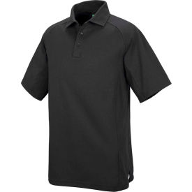 Horace Small™ New Dimension® Unisex Short Sleeve Special Ops Polo Shirt Black XXL - HS51