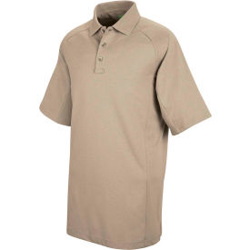 Horace Small™ New Dimension® Unisex Short Sleeve Special Ops Polo Shirt Silver Tan M HS51