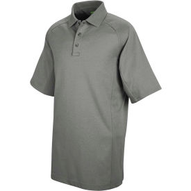 Horace Small™ New Dimension® Unisex Short Sleeve Special Ops Polo Shirt Gray M - HS51