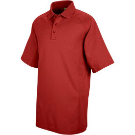 Horace Small™ New Dimension® Unisex Short Sleeve Special Ops Polo Shirt Red 4XL - HS51
