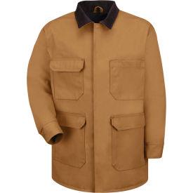 Red Kap® Blended Duck Chore Coat Regular-3XL Brown Duck JD24