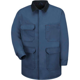 Red Kap® Blended Duck Chore Coat Regular-S Navy Duck JD24
